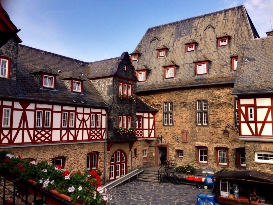 Burg Stahleck near Bacherach