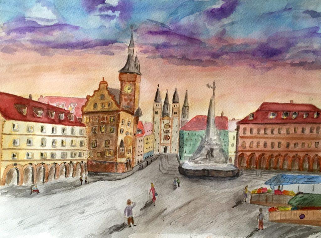 Wuerzburg Painting GermaniaDesign