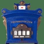 Postbriefkasten, historic German mailbox