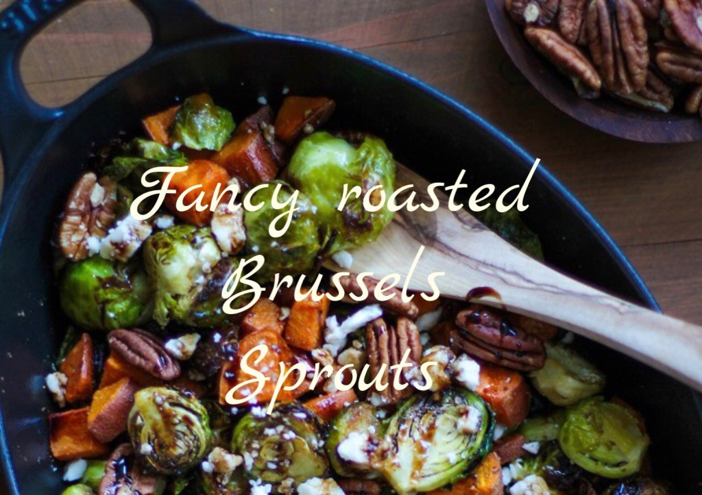 Sweet Potato Brussels Sprouts