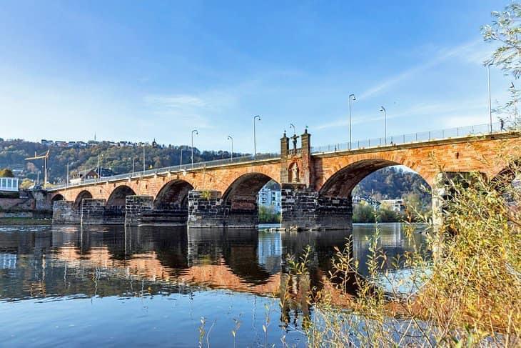 Old Roman bridge Germany
